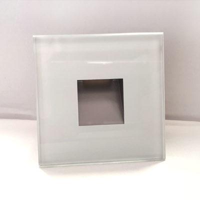 vanjska led svjetiljka bijela staklo