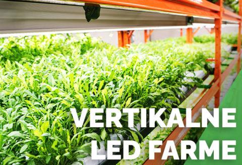 LED vertikalne farme